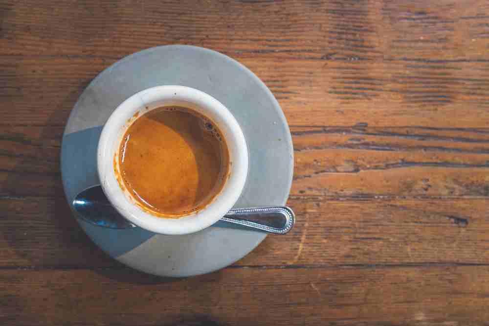 Café espresso de cafateria