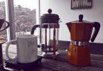 cafeteira francesa ou cafeteira italiana