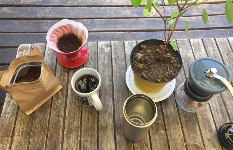 café especial na viagem